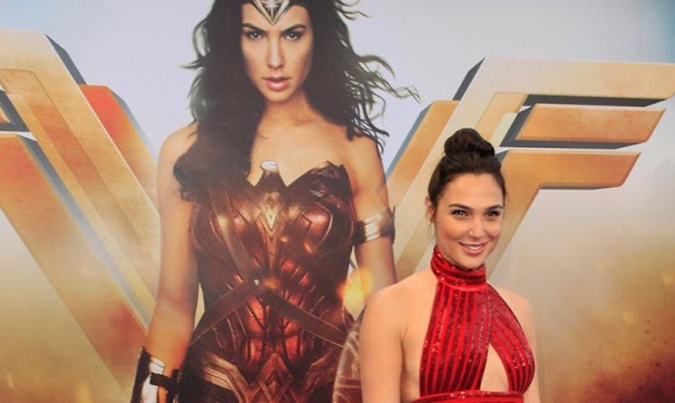 La actriz Gal Gadot, quien interpreta a Wonder Woman.