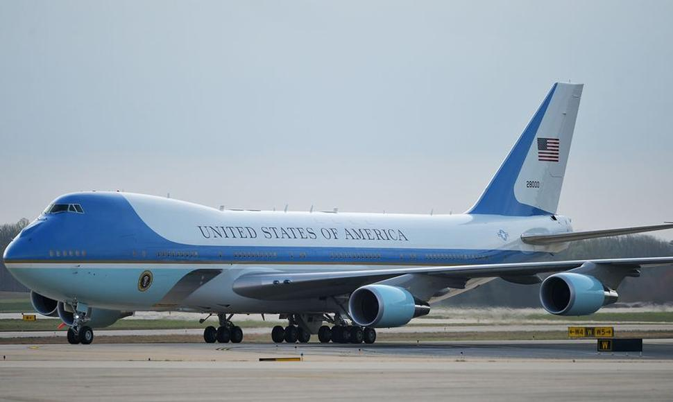 El avión presidencial, el Air Force One.