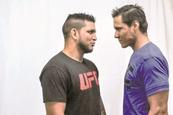 Escudero promociona Ultimate Fighter