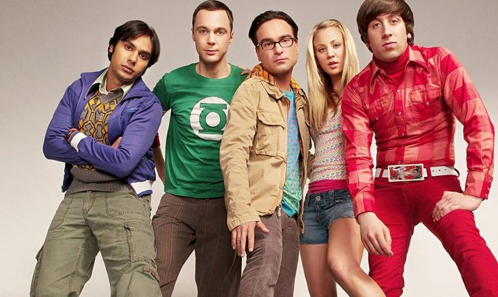 Los personajes de The Big Bang Theory