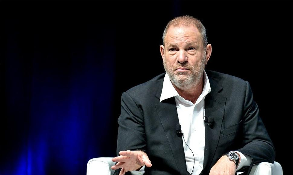Productor de Hollywood, Harvey Weinstein.
