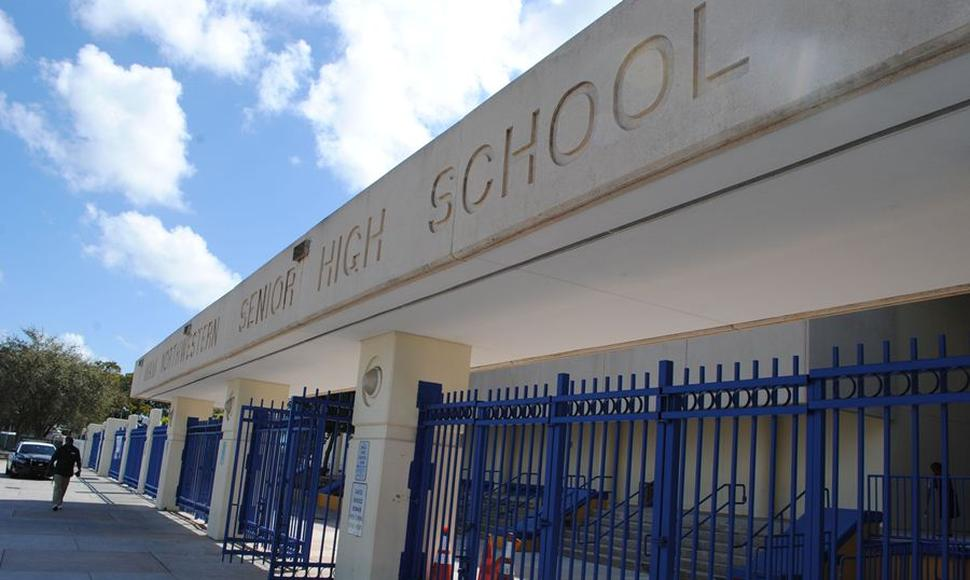 La Miami Northwestern Senior High School, donde estudió el director de la cinta Moonlight.