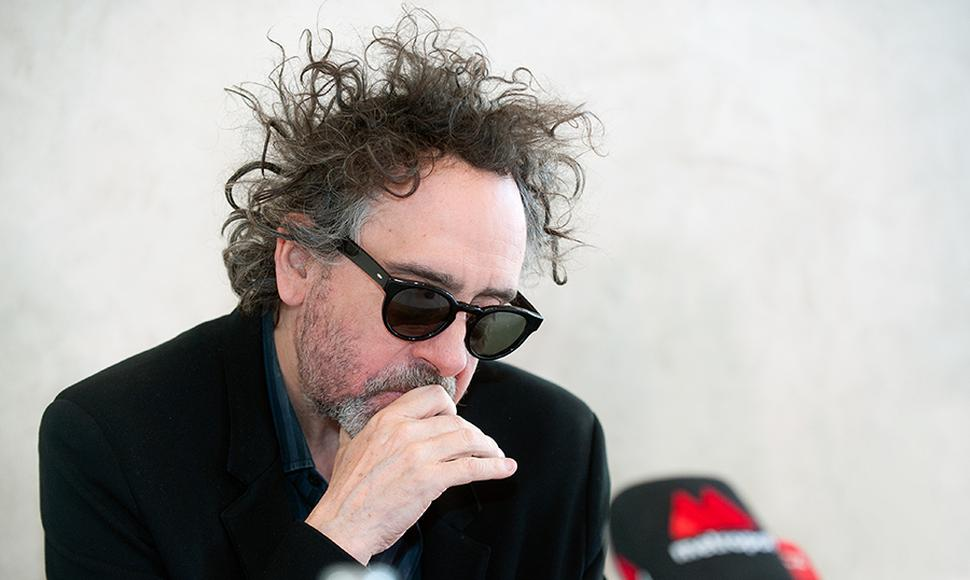 Tim Burton, director de cine.