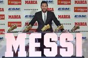 Messi, indiscutible  Bota de Oro