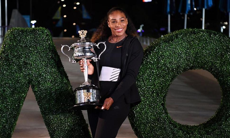 Serena Williams no compite desde abril