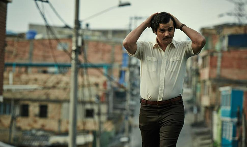 "Wagner Moura, protagonista de  ""Narcos"""
