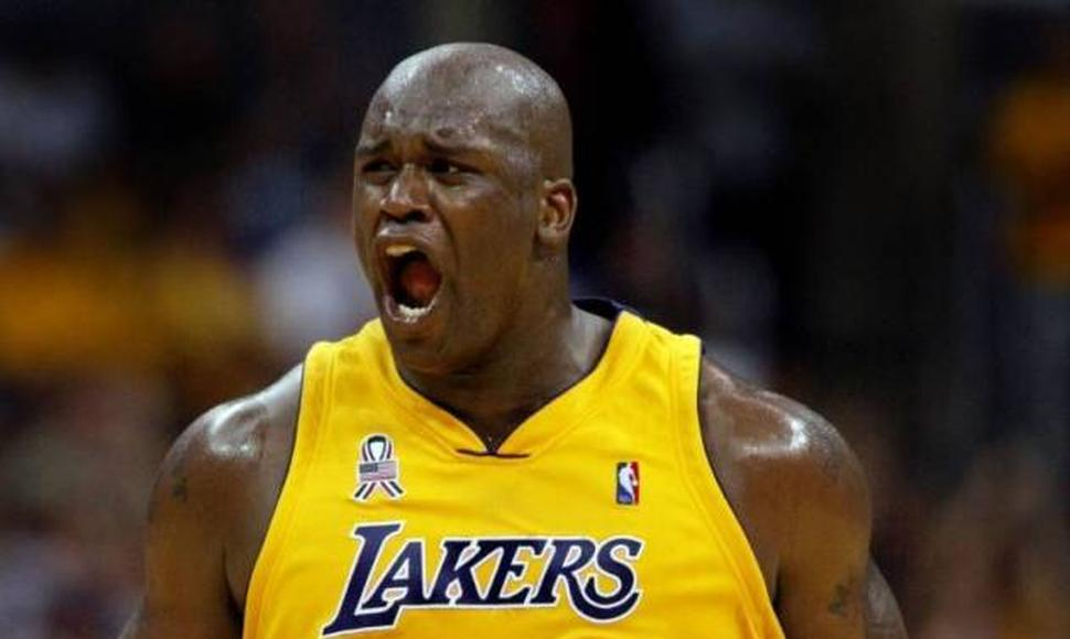 Shaquille O'Neal brilló con los Lakers.