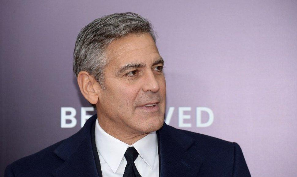 El actor George Clooney