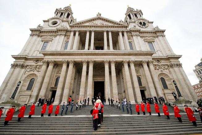 Catedral de San Pablo en Londres. AFP / END