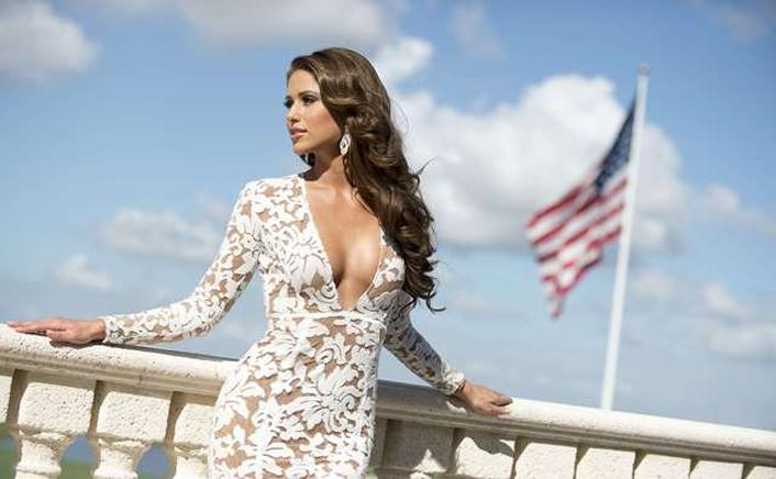Nia Sanchez, Miss USA 2014. AFP / END