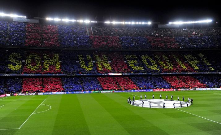 El Camp Nou. AFP / END