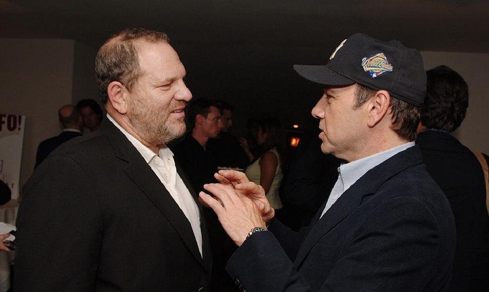 Kevin Spacey y Harvey Weinstein.