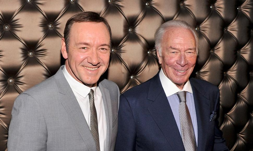 Kevin Spacey junto a Christopher Plummer