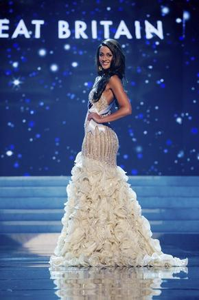 Miss Gran Bretaña, Holly Hale. EFE / END
