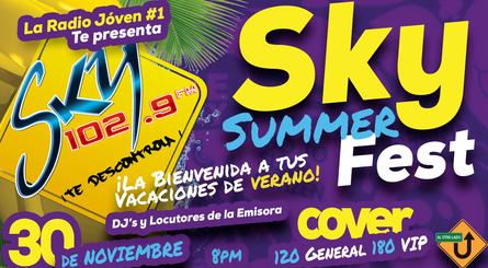 SKY Summer Fest / November 30 / Al Otro Lado Club
