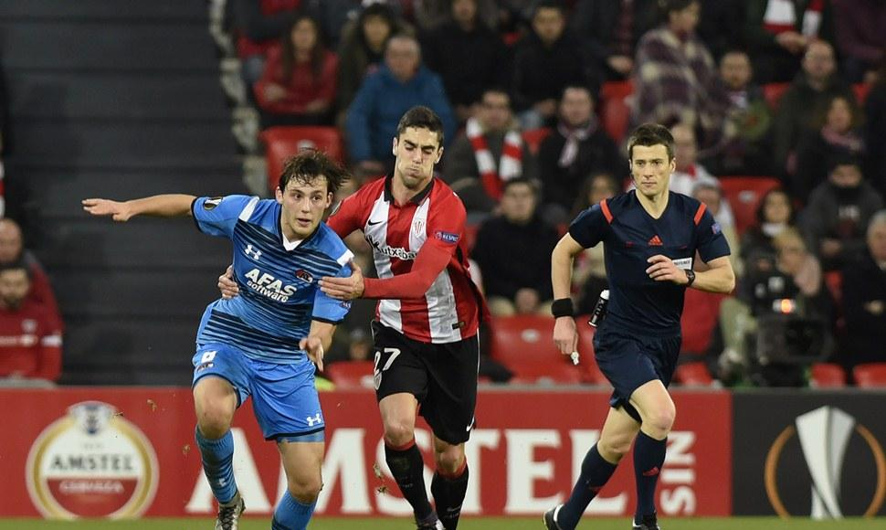 El athletic se clasificó a los octavos de final.