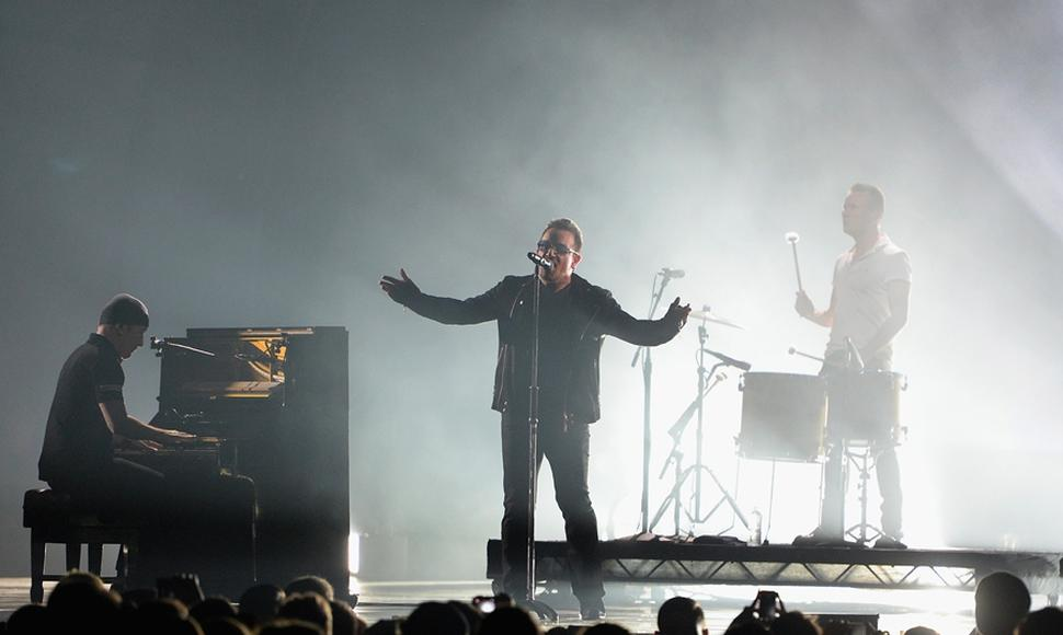 EN los European Music Awards, U2 recibirá el premio de honor Global Icon..