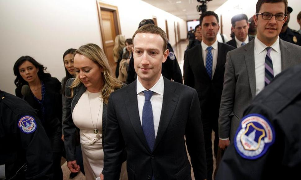 El presidente de Facebook, Mark Zuckerberg