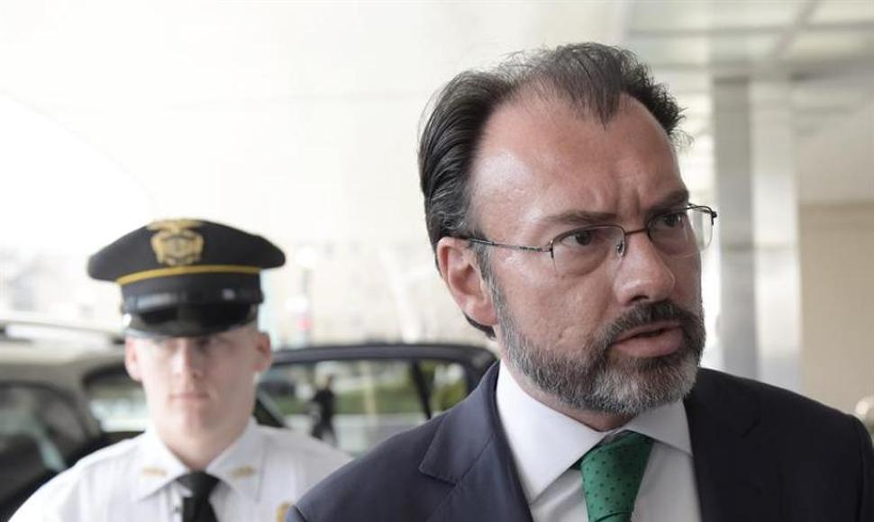 El canciller mexicano, Luis Videgaray