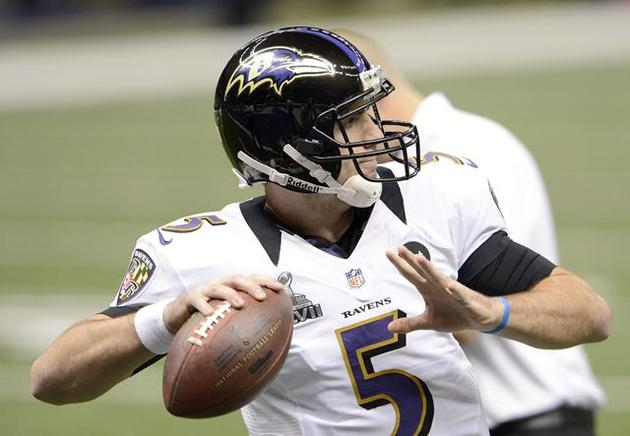 Baltimore Ravens quarterback Joe Flacco. EFE / END