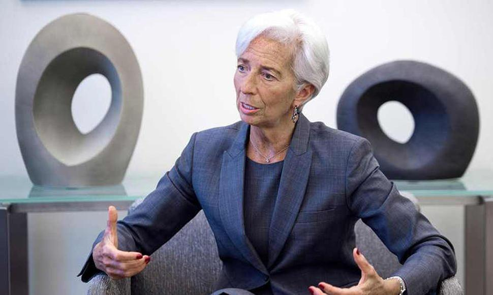 Christine Lagarde, la directora general del FMI.