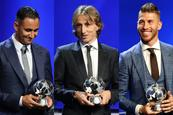 Real Madrid  domina premios de la UEFA
