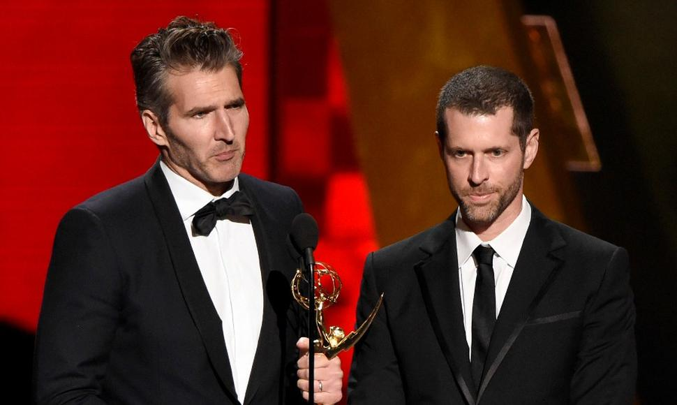 David Benioff y D.B. Weiss, los creadores de la serie Game of Trones.