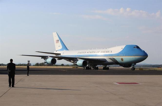 El Air Force One, el avión presidencial de Estados Unidos.