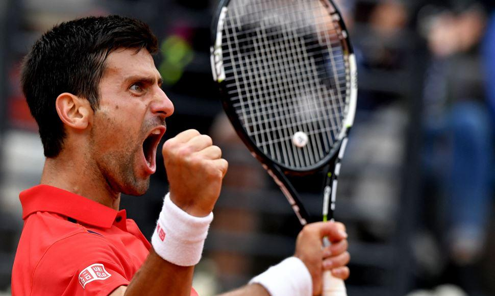 Novak Djokovic está luciendo imparable.