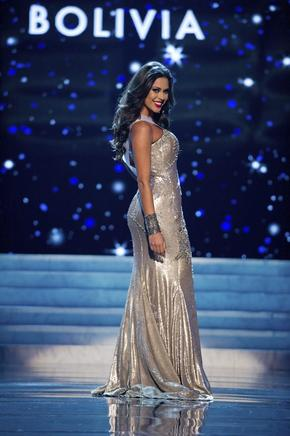 Miss Bolivia 2012, Yessica Mouton. EFE / END