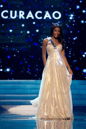 Miss Curazao, Monifa Jansen. EFE / END