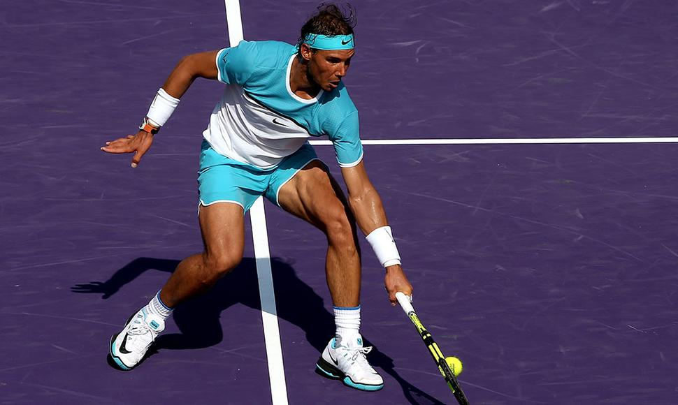 NADAL SIGUE SIN EXHIBIR UN BUEN NIVEL.