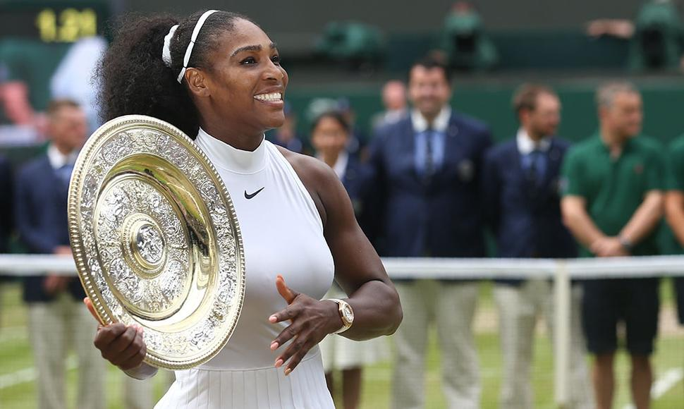 La menor de las Williams cobró venganza ante Kerber.