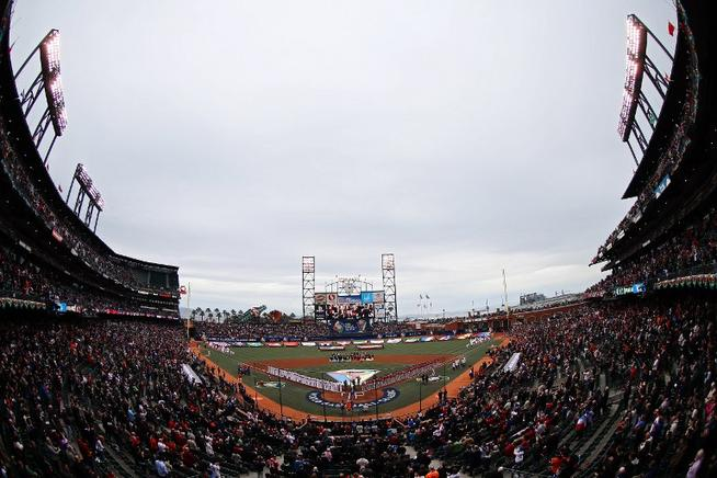 AT&T Park de San Francisco, California. AFP / END