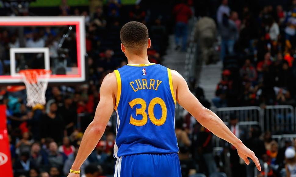 Stephen Curry, de los Warriors de Golden State.