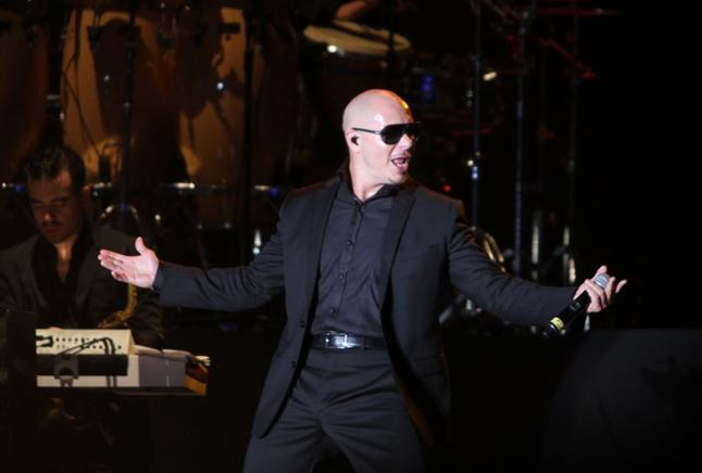 Pitbull no paró de bailar. END/LISANDRO ROQUE