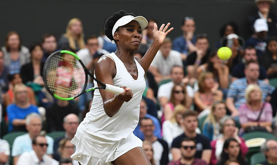 Venus Williams venció a jelena ostapenko.