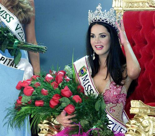 Mónica Spears Mootz, Miss Venezuela 2004. AFP / END