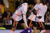 Valencia frena al Madrid