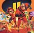 """Los increibles 2""  (The Incredibles 2)"