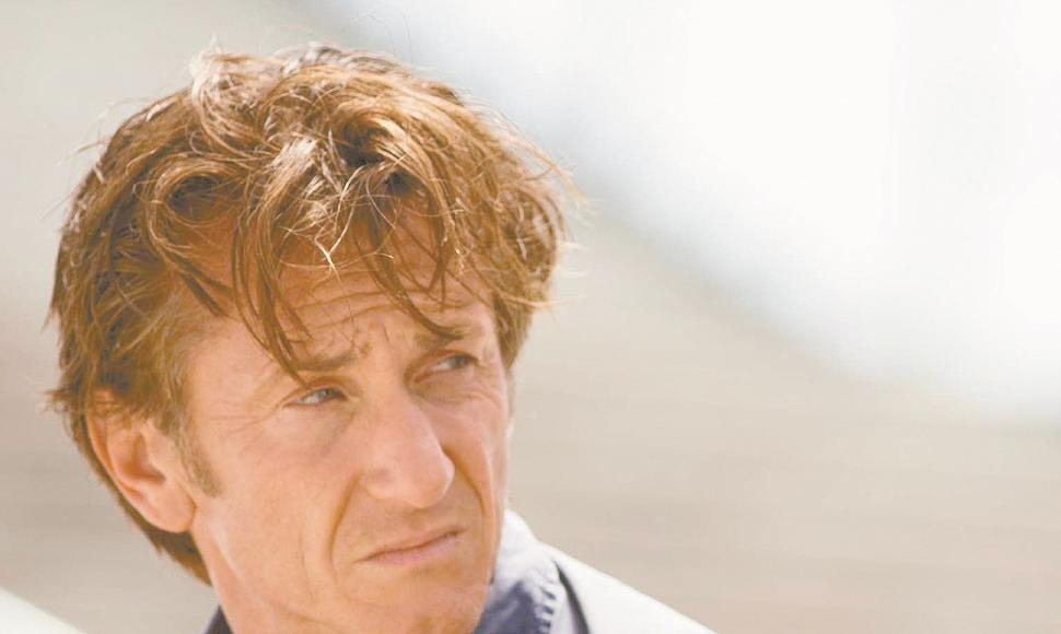 Actor norteamericano Sean Penn