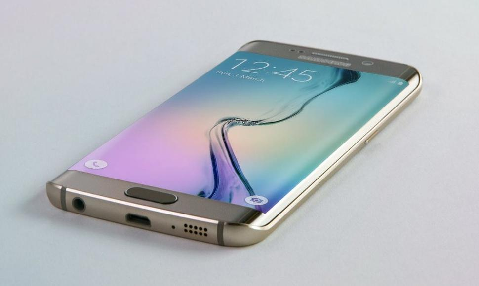 El Galaxy S6 Edge.