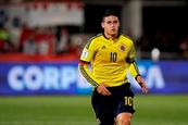 Gesto obsceno de James Rodríguez desata debate en Colombia