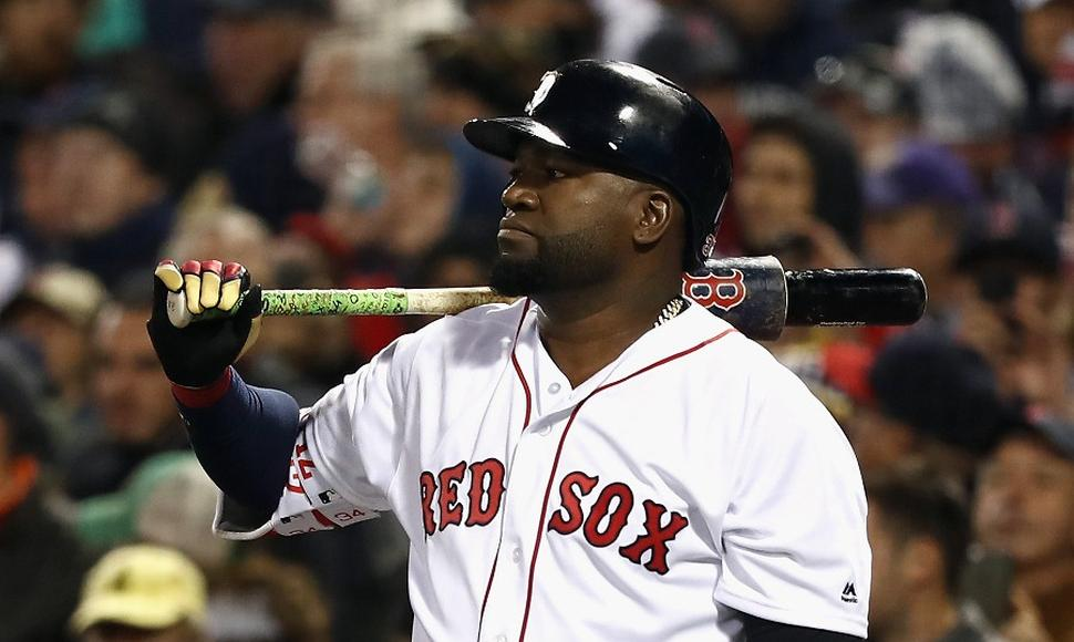 David Ortiz, exjugador de los Boston Red Sox