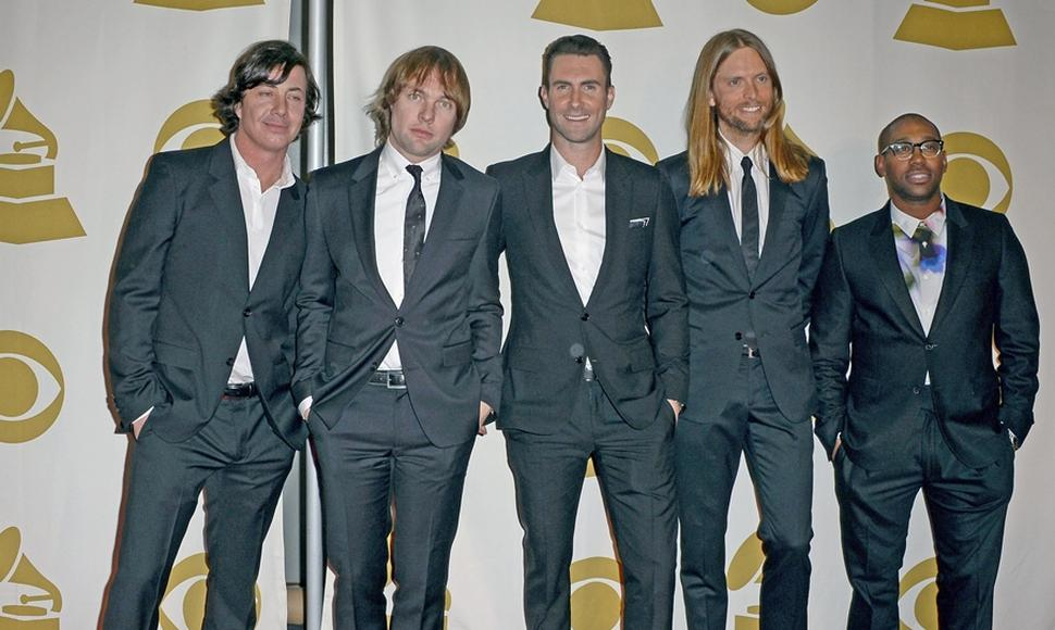 "Maroon 5 cuenta con éxitos como ""Moves like jagger"" y ""She will be loved""."