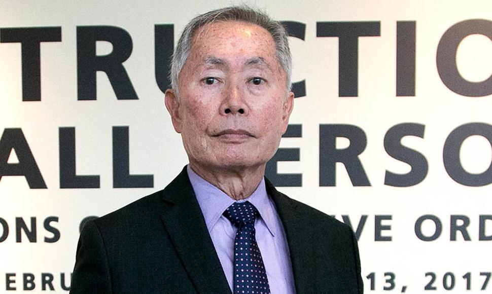 George Takei, actor.