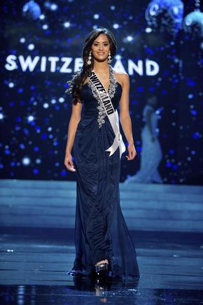 Miss Suiza, Alina Buchschacher. EFE / END