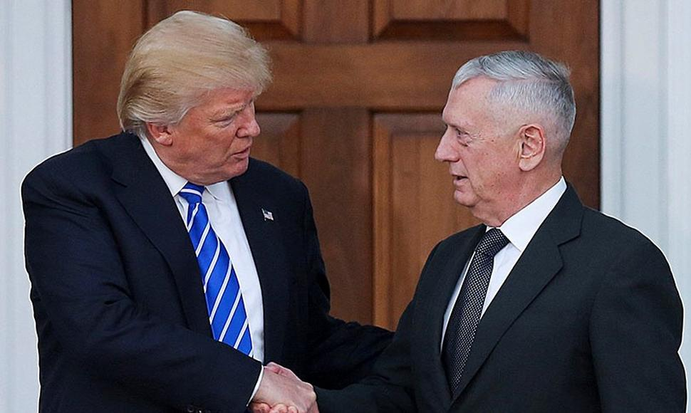 El presidente electo propuso al general James Mattis, para la cartera de Defensa.
