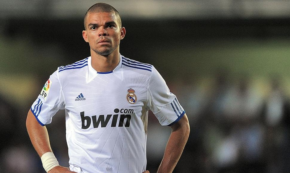 Pepe, central del Real Madrid.