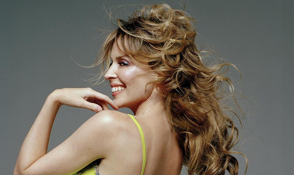 Kylie Minogue, cantante.